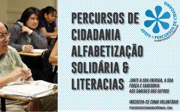 PERCURSOS DE CIDADANIA ALFABETIZAÇÃO SOLIDÁRIA E LITERACIAS